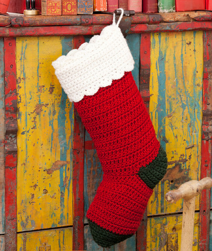 crochet christmas stocking pattern ijaomjf