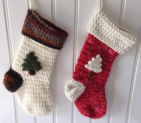 crochet christmas stocking pattern #py004 epcqtrw