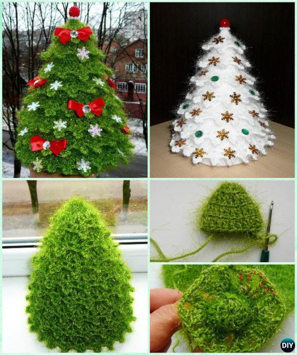 crochet christmas trees 3d crochet christmas tree free pattern-sparkling christmas tree mdfmcqu