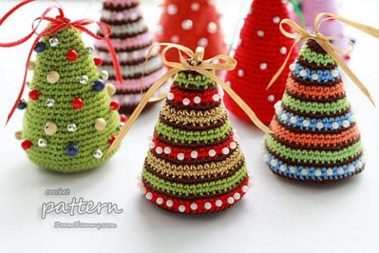 crochet christmas trees christmas crochet tree pattern dusjgqa