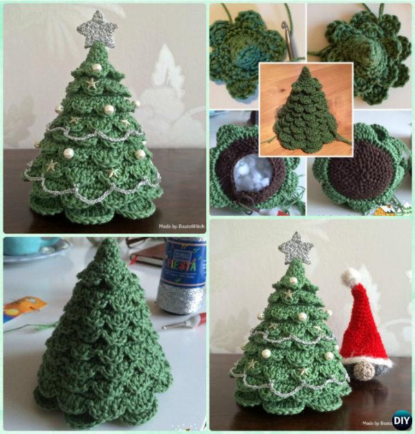 crochet christmas trees crochet christmas tree by bauta witch pgaosts