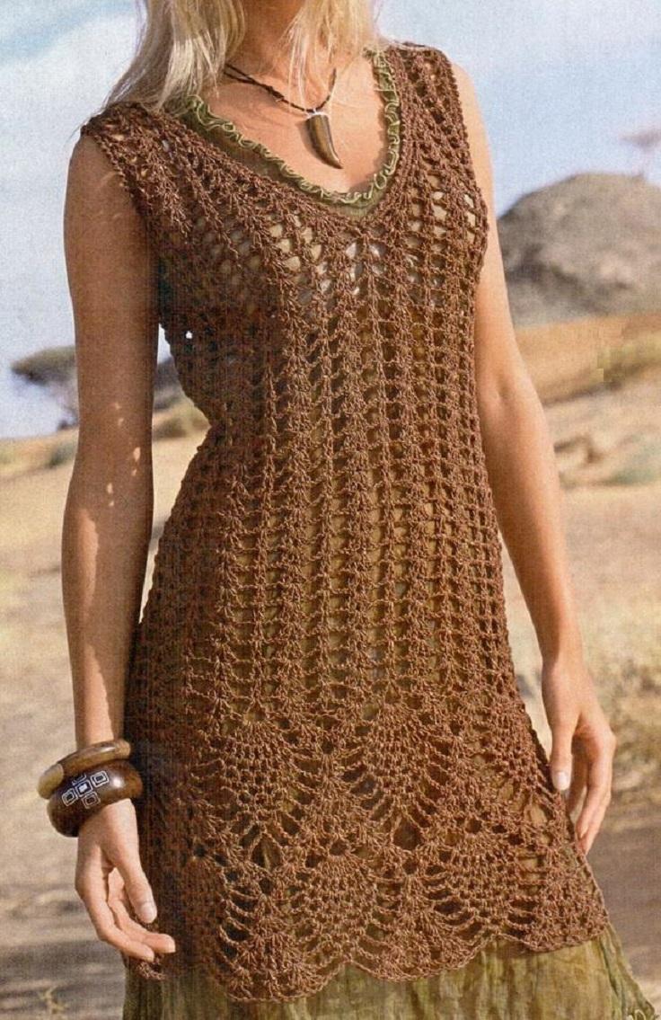 An Era of Crochet: Crochet Clothing