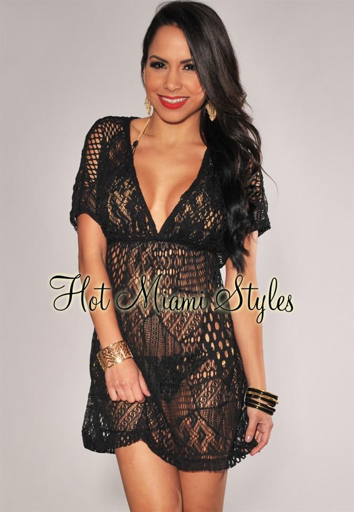 crochet cover up black crochet cover-up dress turtuqh