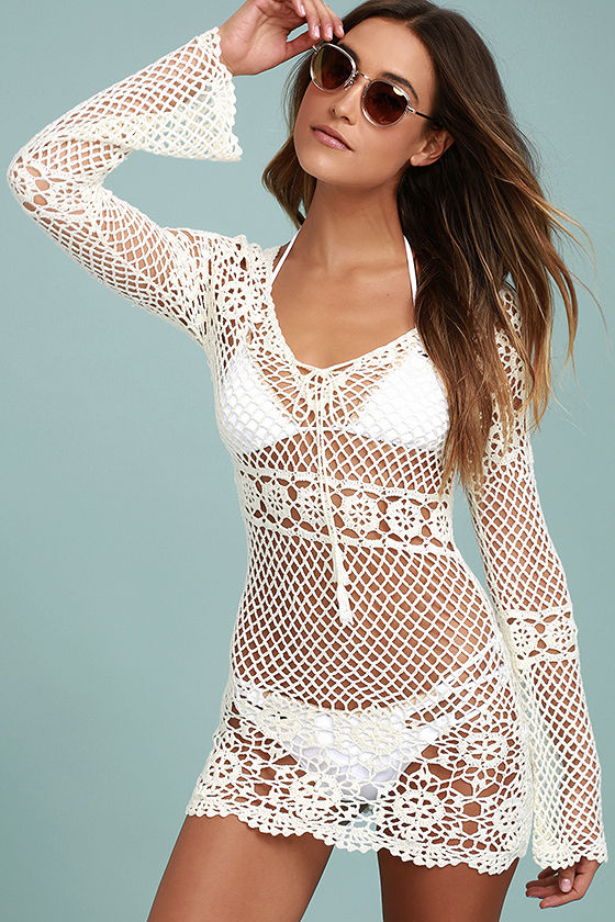 crochet cover up sea and sand cream crochet cover-up 1 roxtoxg