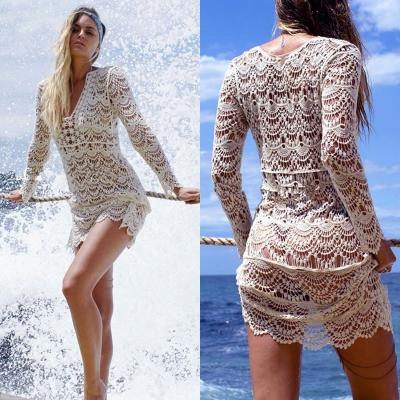 crochet cover up women-s-v-neck-long-sleeve-crochet-lace-cover- mohhzys