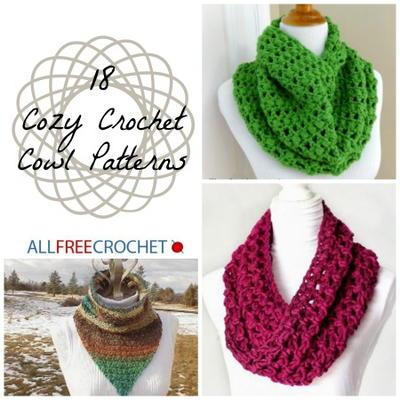 crochet cowl pattern 18 cozy crochet cowl patterns yupdues