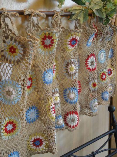 Crochet Curtains crochet curtains | knit and crochet cospbnq