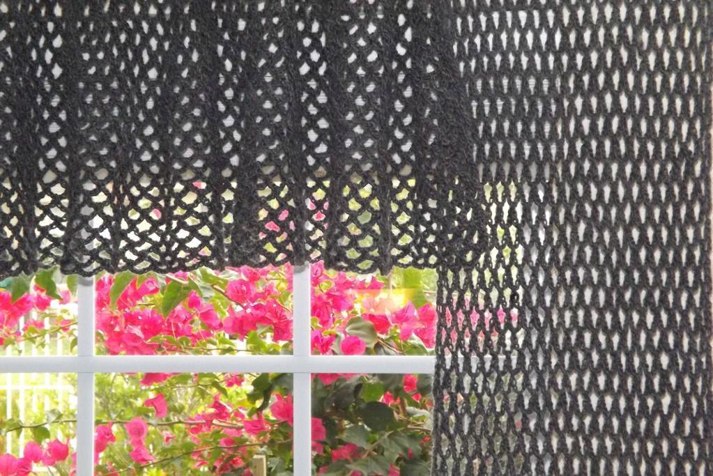 Crochet Curtains crochet window treatments pattern lwbdysw