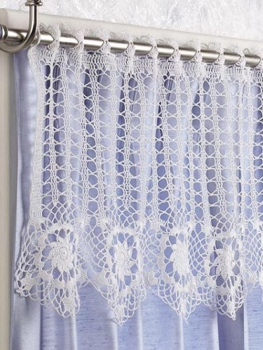 Crochet Curtains free crochet curtain patterns on moogly! nnukywd