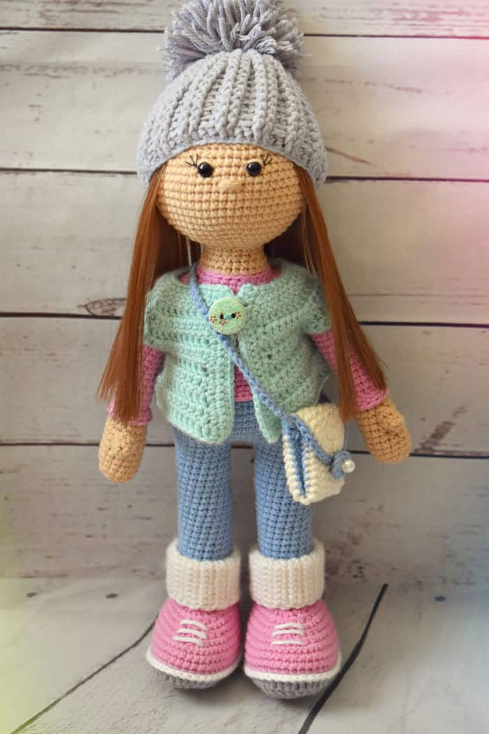 Crochet doll – Colorful Crochet doll for Babies
