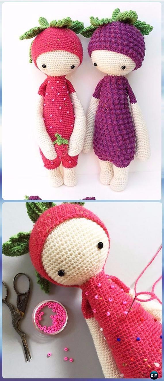 crochet doll patterns crochet berry doll free pattern - crochet doll toys free patterns bnsxbpw