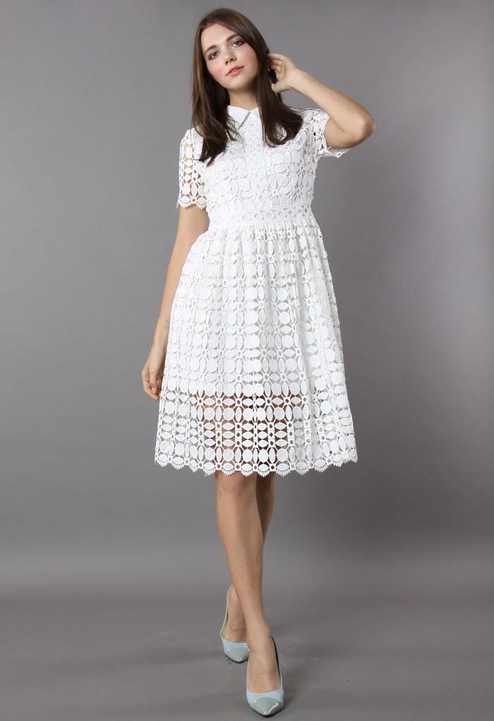 crochet dress more views. splendid crochet white dress dwxumpg