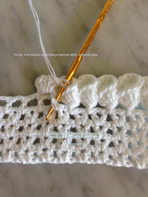 crochet edging crochet petal cone edging uccmsvg