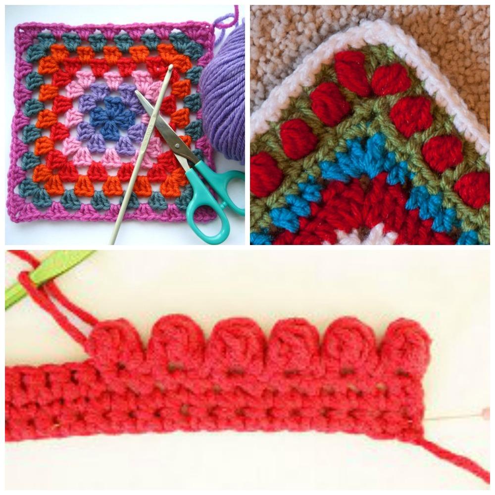 Crochet Edging Patterns crochet borders and edgings: 29 crochet tutorials | allfreecrochet.com htaveeh