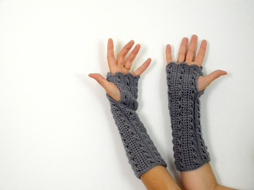 Crochet Fingerless Gloves For You