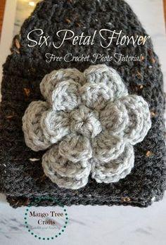 Crochet Flower Patterns crochet flower free pattern pvkozem