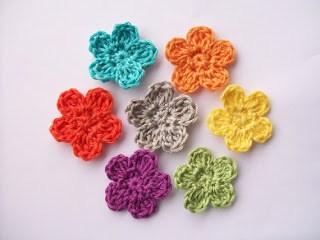 crochet flowers 9. weycuht
