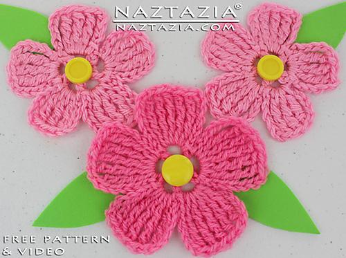 crochet flowers ravelry: large petal crochet flower pattern by naztazia rheiulg
