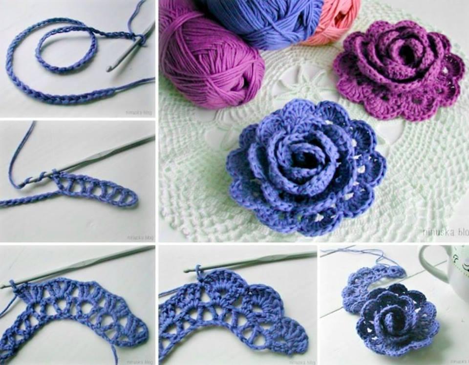 crochet flowers view in gallery gorgeous 3d lace flowers-wonderfuldiy mybndfl