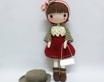 crochet garage, crochet doll pattern / amigurumi doll pattern - petunia kzjlpxv