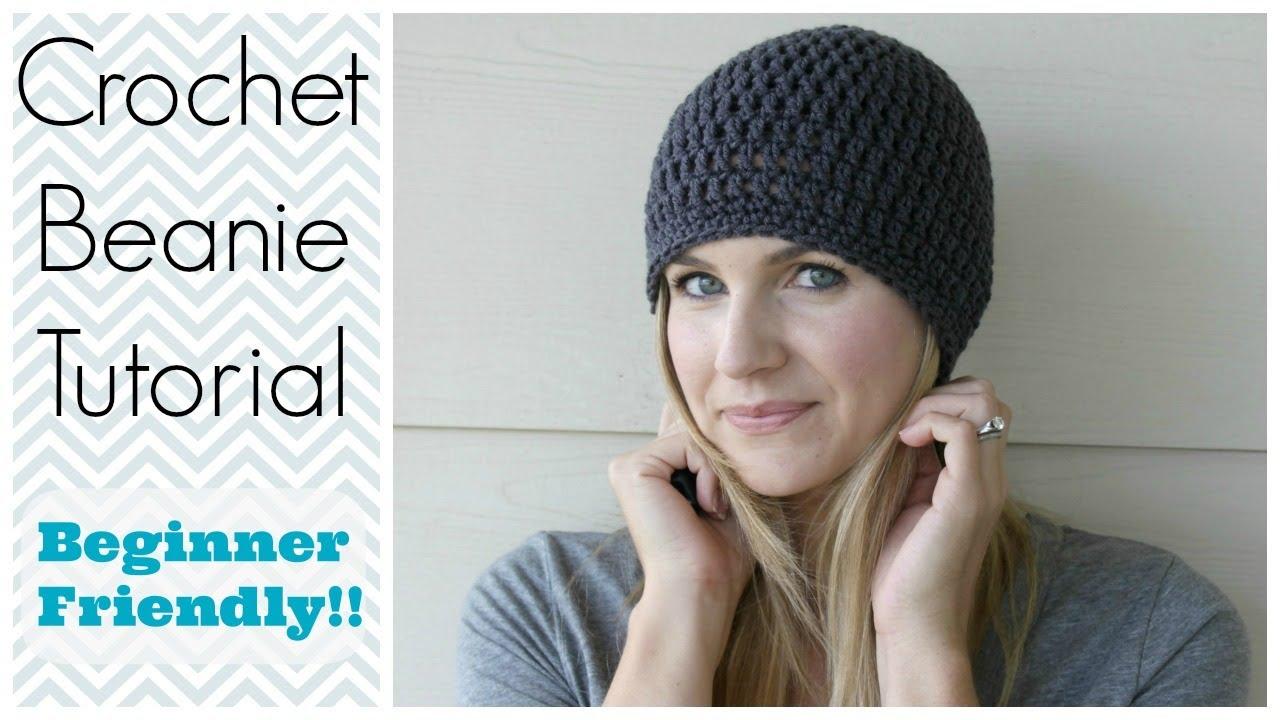 crochet hat patterns for beginners how to crochet a beanie tutorial - beginner friendly - youtube ebyjskm