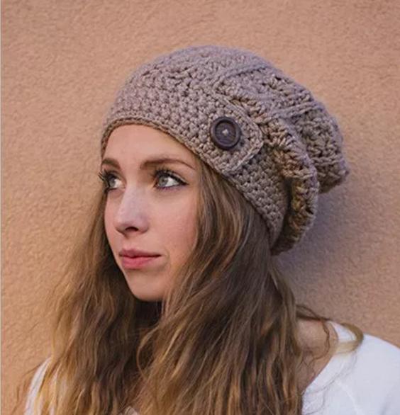 crochet hats cabled slouchy beanie crochet pattern bdtgcne