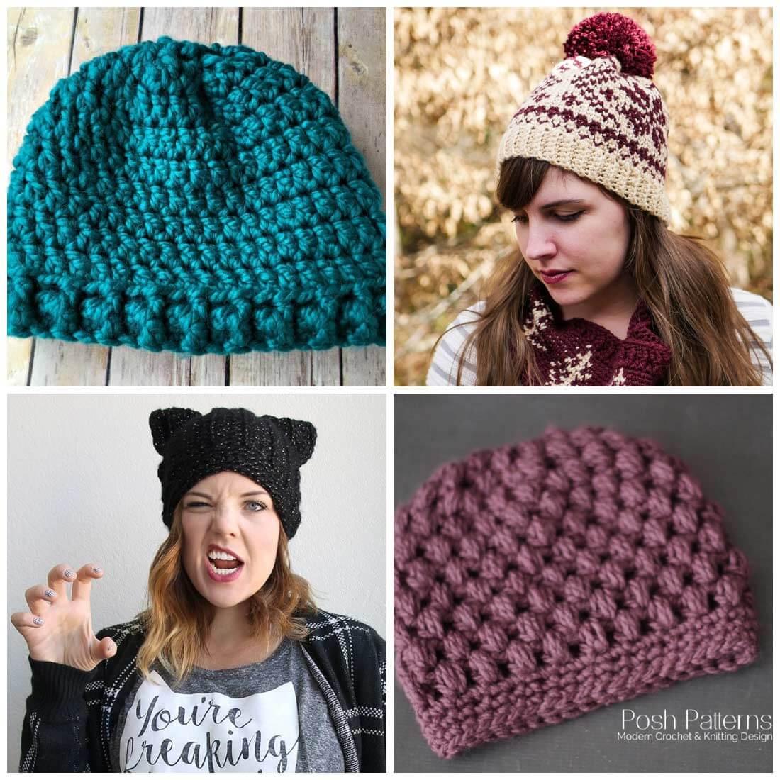 crochet hats free crochet hat patterns   free crochet patterns   crochet patterns   use tamwjgj