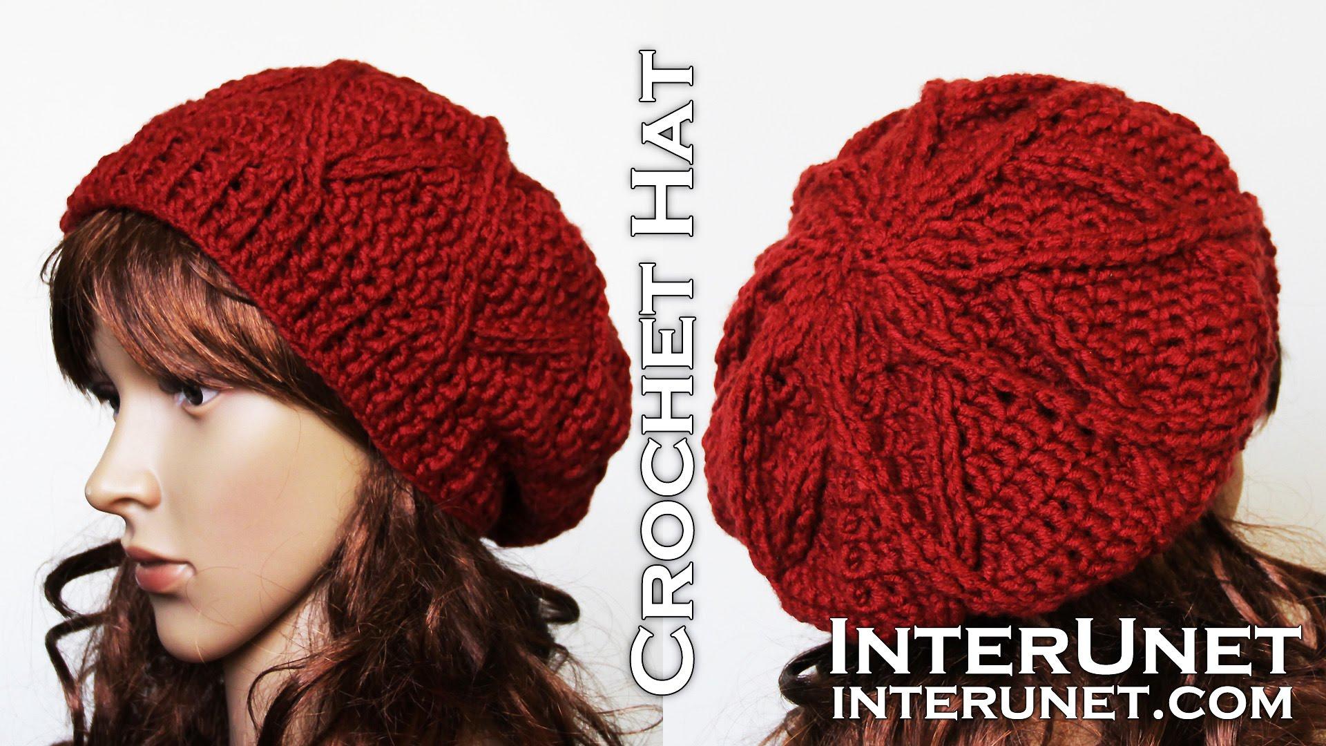 crochet hats how to crochet a hat - slouchy hat crochet pattern - youtube knnhrmu