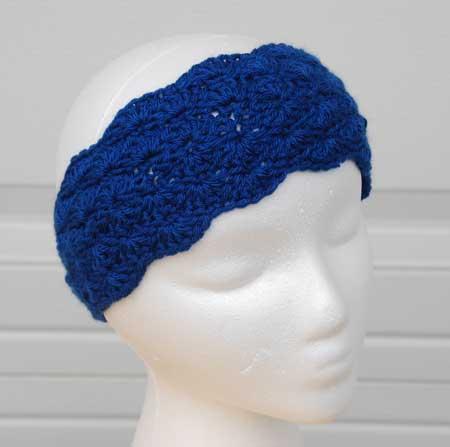 crochet headband pattern double shell headband crocheted by jeanne steinhilber jejwnoo