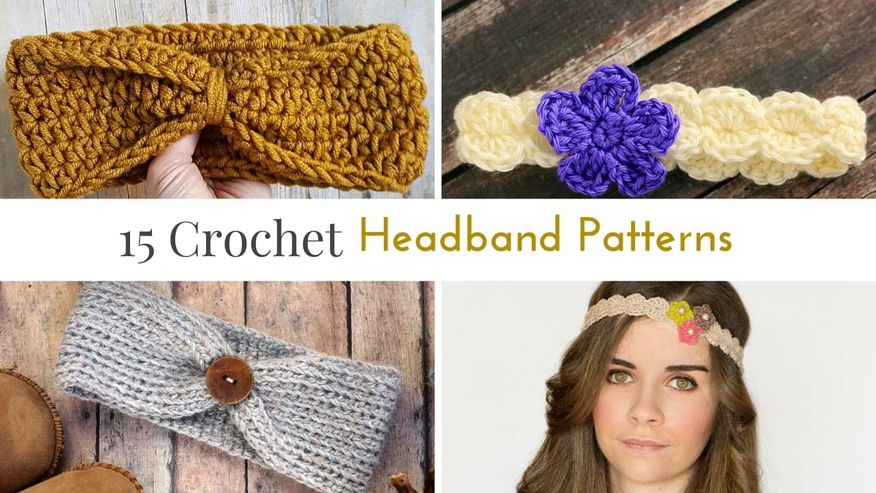 crochet headband pattern free crochet headband patterns uundwkt
