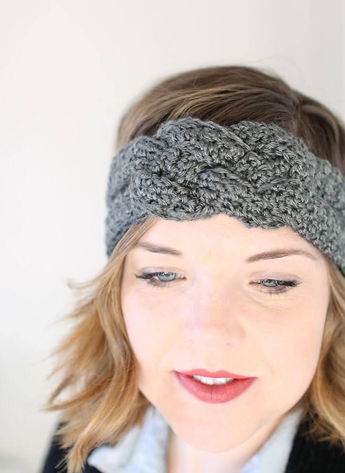 crochet headband pattern sailor knot crochet headband - free pattern mutetfp