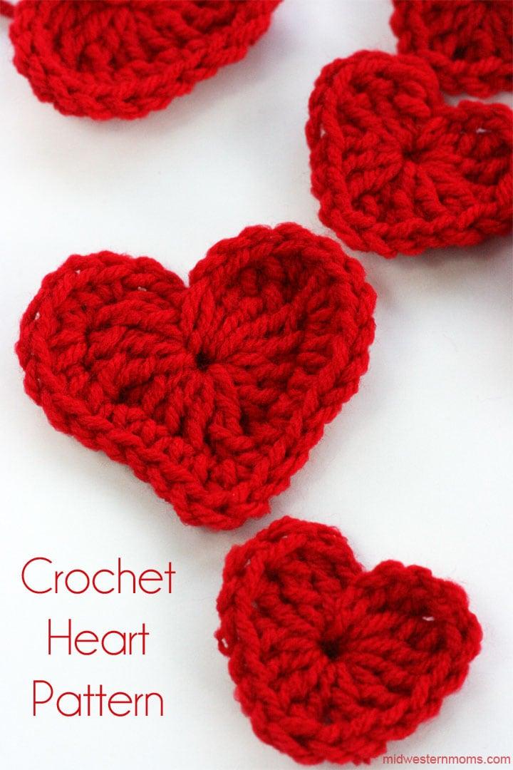 Crochet Heart Pattern crochet heart pattern hbelorz
