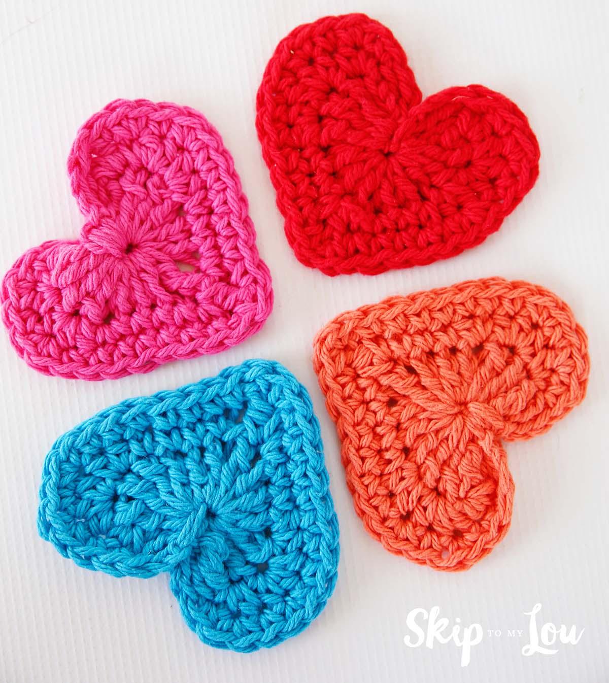 Crochet Heart Pattern easy crochet heart cfognnu