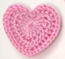 Crochet Heart Pattern love hearts crochet pattern by planetjune ymicmjl