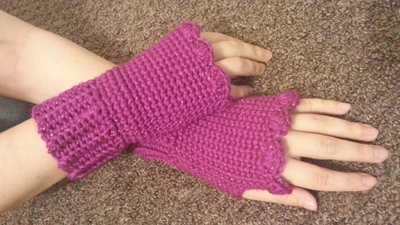 crochet how to #crochet fingerless gloves wristers #tutorial #155 learn  crochet - clbwbjh