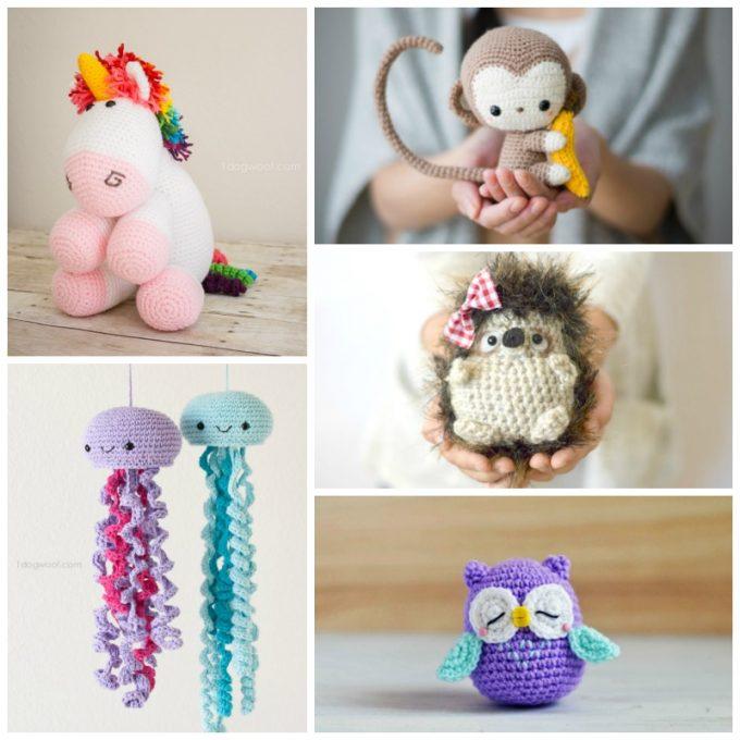 Crochet Ideas cute animal crochet patterns ymknzfs