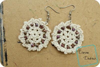 crochet lace carrie lace earrings yjqykdn