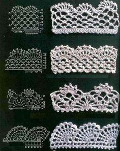 Crochet Lace Pattern crochet lace patterns beautiful-crochet-lace-patterns-free-edging-find mezbsiw
