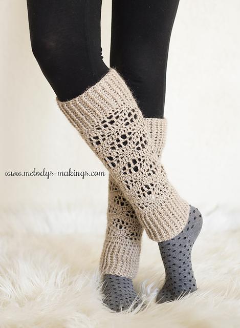 crochet leg warmers ravelry: wisteria leg warmers ~ crochet version pattern by melody rogers dmwmezw