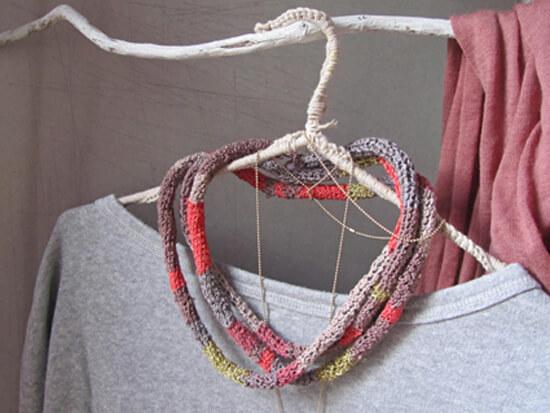 crochet necklace 13 modern crochet necklaces roundup - all free ksedbht