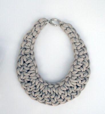 crochet necklace cultivating creativity: diy crochet necklaces mais nqwgsol