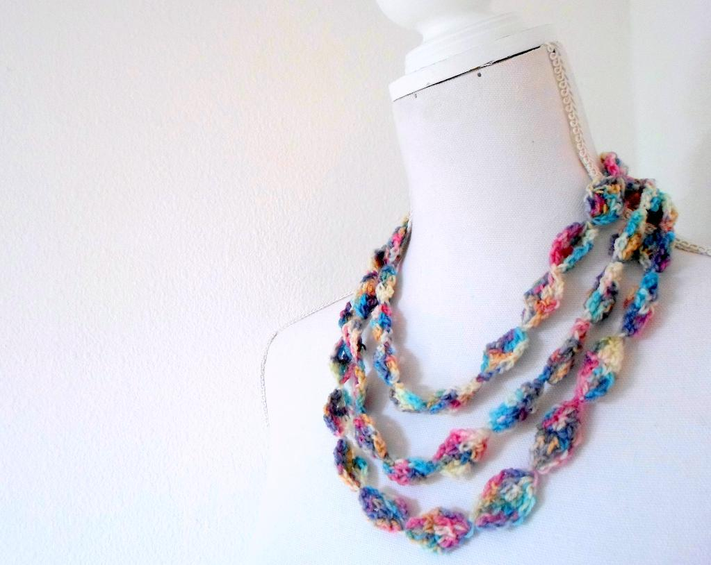 Crochet Necklace Accessories and its usage