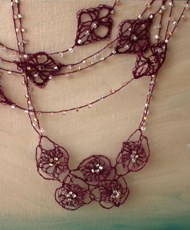 crochet necklace pattern 10 stash busting crochet necklace patterns craftsy legrifi