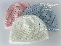 crochet newborn hat lacy crochet: v-stitch newborn beanie, free crochet pattern more   crochet    xvgalaj