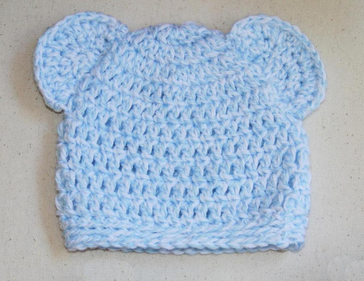 crochet newborn hat newborn baby bear hat crochet pattern vsydseu