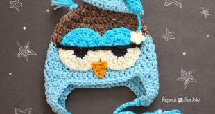 crochet owl hat pattern crochet drowsy owl hat pattern - repeat crafter me ipeljux