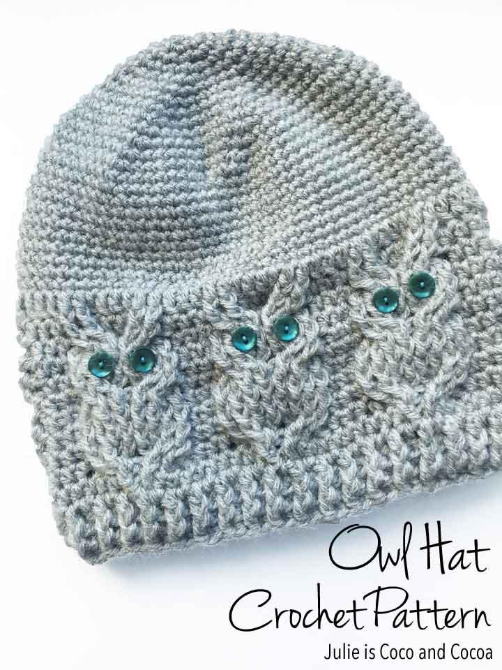 crochet owl hat pattern owl hat crochet pattern kklpygx