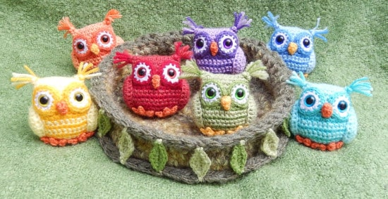 Crochet owl pattern ... crochet baby owls pattern opvqpst