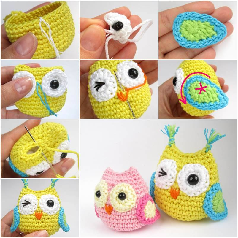 Crochet owl pattern cute crochet baby owl with free pattern and tutorial ffeyheq