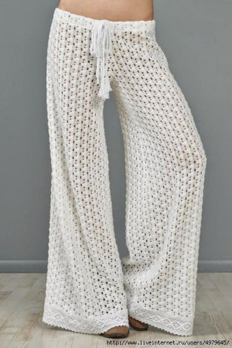 Crochet pants – Go in for Trendy Crochet Pants